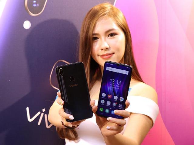 水滴全螢幕手機vivo V11與V11i 台灣11/16上市