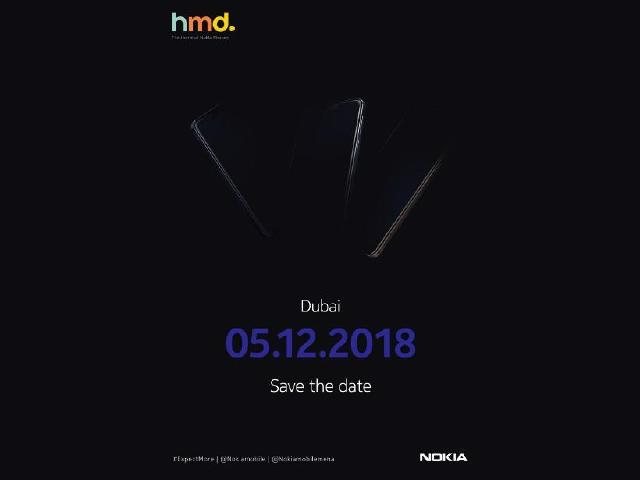 HMD杜拜12/5發表新手機 NOKIA 8.1可望推出
