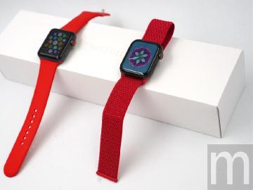 [動眼看]Apple Watch (PRODUCT)RED運動款錶環開箱