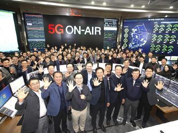 韓國邁入5G時代 SK、KT與LG U+啟動商用網路