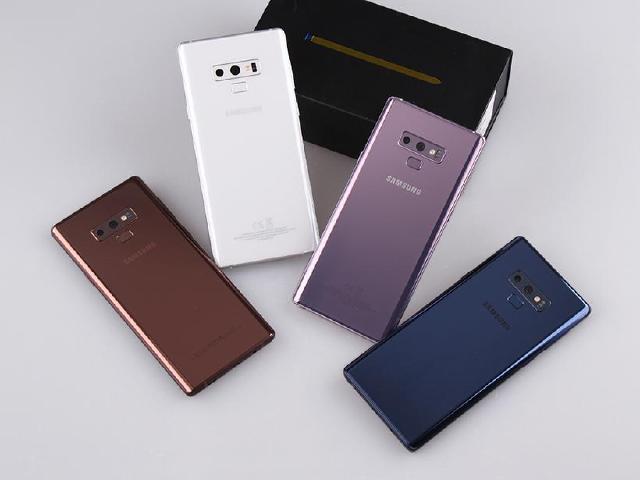 初雪白新顏色來報到 SAMSUNG Note 9台灣上市全色系開箱