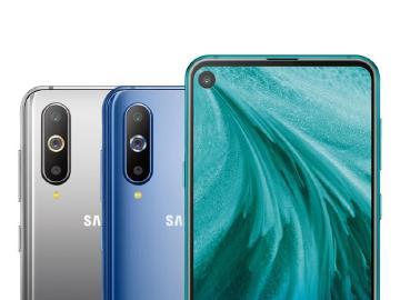 全螢幕開孔放鏡頭 SAMSUNG Galaxy A8s中國發表
