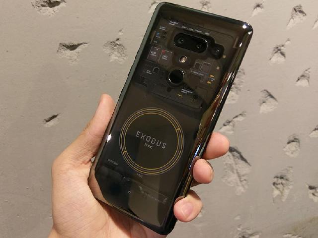 [影片]HTC EXODUS 1重點評測:區塊鏈、加密貨幣、透明機殼