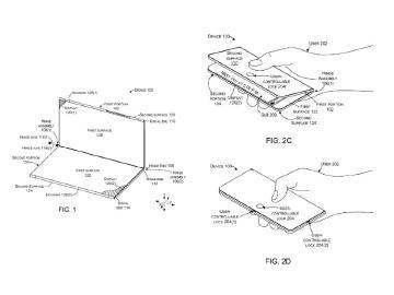 微軟可折疊裝置鉸鍊專利亮相 機身設計安全鎖防打開