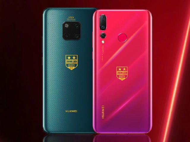 華為智慧型手機全球出貨量突破2億台 Mate20 Pro與nova4推紀念版