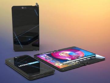 LG可折疊螢幕手機專利曝光 特殊鉸鏈固定對折機身