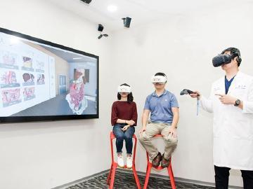 HTC DeepQ攜萬芳醫院建多人體驗VR團體衛教診間