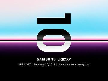 三星發出邀請函 Galaxy S10系列手機確定2/20發表