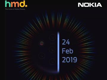 HMD預計2月24日辦MWC發表會 多鏡頭Nokia 9將現身