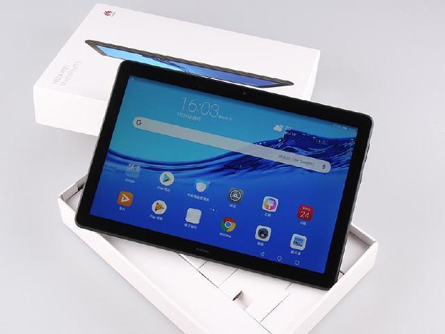 10.1吋雙聲道平板 HUAWEI MediaPad T5開箱