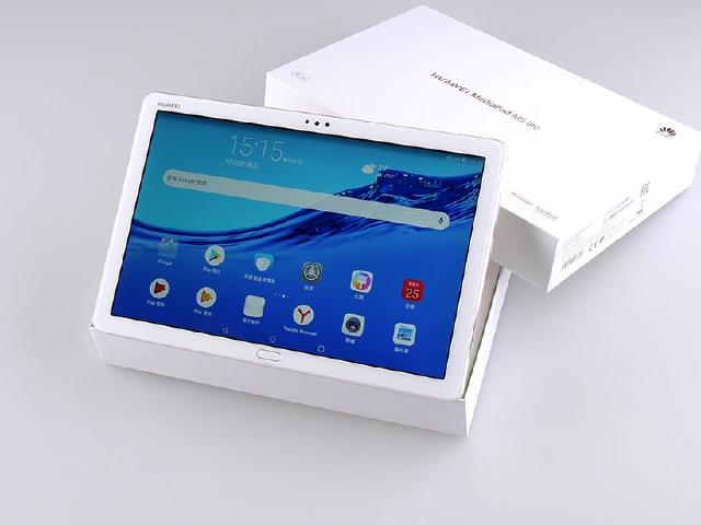 華為MediaPad M5 lite開箱 10.1吋立體四揚聲器平板