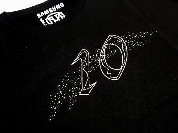 三星與頑童跨界合作 Galaxy 10週年聯名T恤透露幹大事