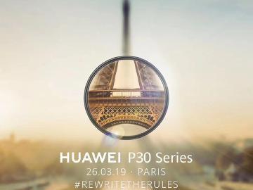 華為預告帶來細緻之美 HUAWEI P30確定3/26巴黎發表