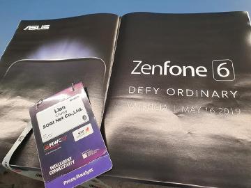 華碩新手機ZenFone 6型號確定 5月發表