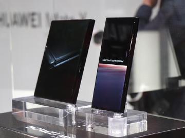 華為發表5G折疊螢幕手機HUAWEI Mate X[MWC 2019]