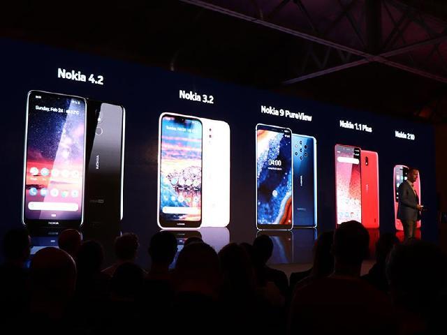 5鏡頭手機Nokia 9 PureView發表 4.2與3.2齊亮相[MWC 2019]
