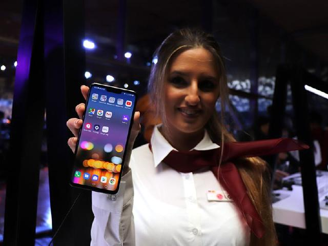 LG G8手機好有梗 ToF鏡頭支援手掌靜脈認證[MWC 2019]