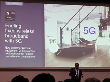 針對6GHz以下與毫米波FWB 高通推5G CPE參考設計[MWC 2019]