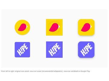Google要求開發者調整App圖示 讓Play Store視覺統一