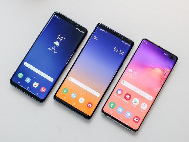 三星旗艦系列手機 S9+、Note9與S10+拍照比較