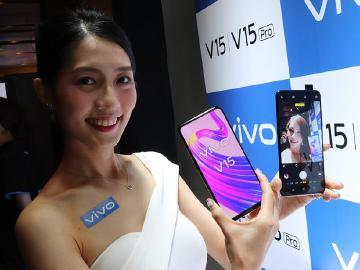 升降式前鏡頭規格 vivo V15開賣 V15 Pro台灣5月上市