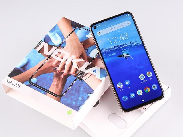 點睛全螢幕手機Nokia X71 三鏡頭主相機開箱測試