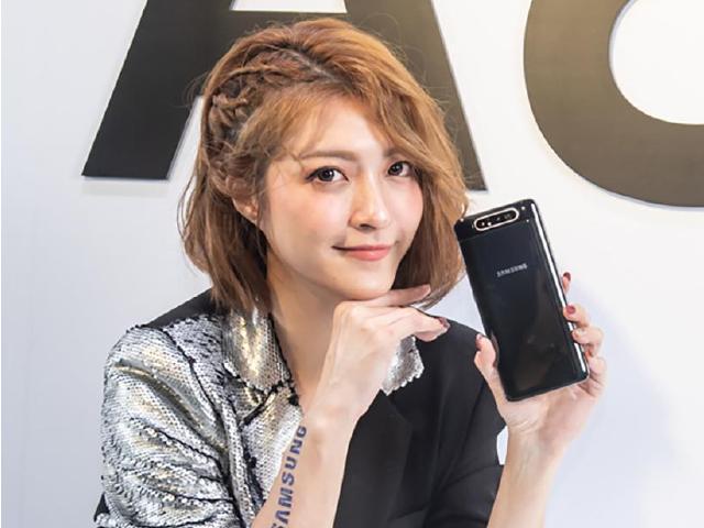[影片]三星全新A系列手機登台 A80翻轉鏡頭超吸睛