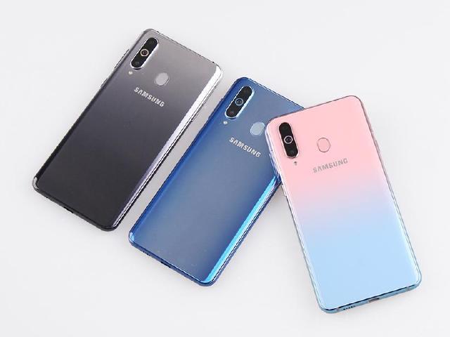 蜜桃蘇打新色報到 SAMSUNG Galaxy A8s三色開箱