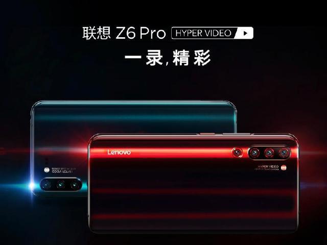 聯想Z6 Pro發表 48MP四鏡頭搭配Coldfront液冷系統