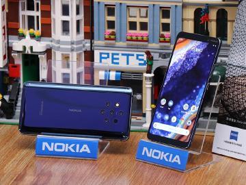 五鏡頭規格手機 Nokia 9 PureView台灣5月3日上市