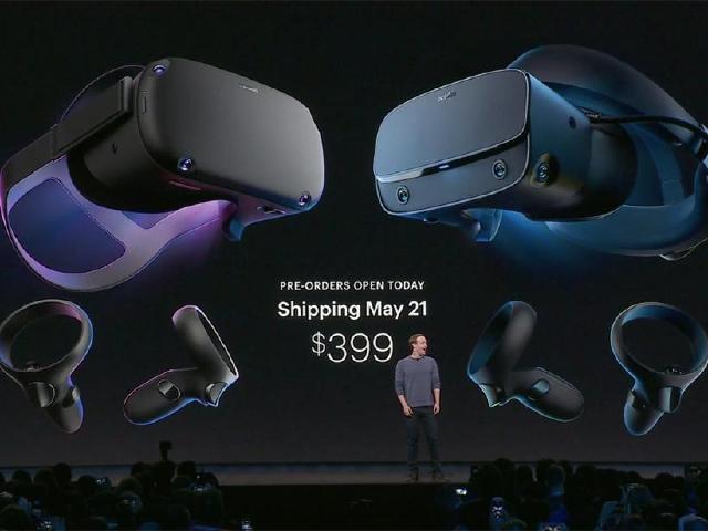 Oculus Quest和Rift S上市時間確認 台灣也能買到