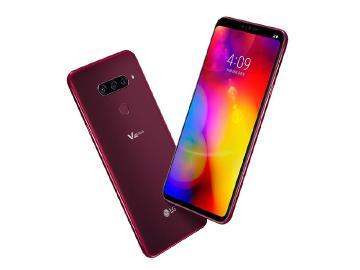 LG V40 ThinQ推勃根地紅新色 5月台灣上市