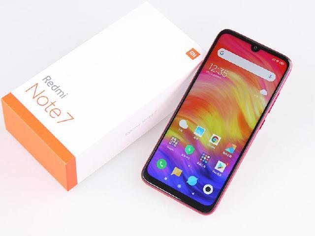 規格重新定義的紅米手機 Redmi Note 7開箱拍照
