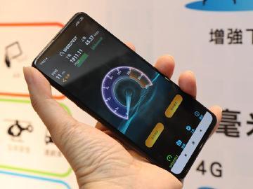 小米MIX3 5G版現身中華攤位 5G網路速度首度公開