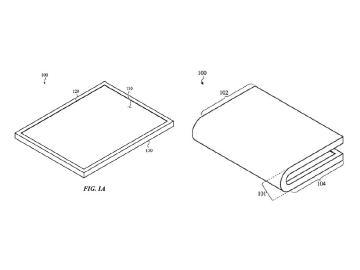 蘋果可折疊螢幕裝置專利亮相 2種凹折設計方向