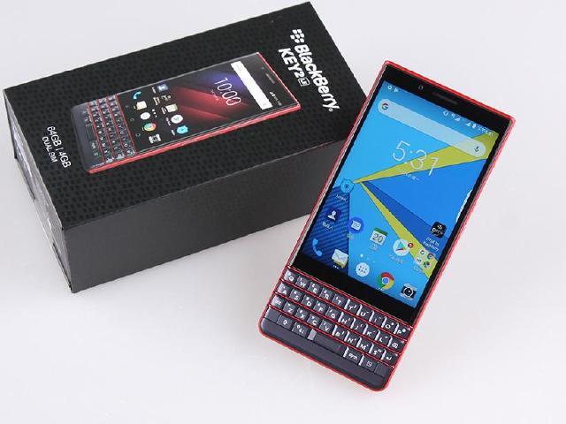 商務定位的黑莓機 BlackBerry KEY2 LE開箱評測