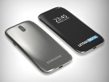 三星新手機專利亮相 3D曲面全螢幕內藏鏡頭