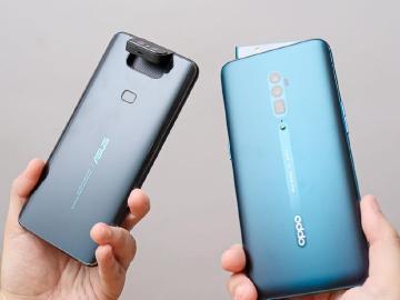 翻轉對上升降!華碩ZenFone 6與OPPO Reno 10x比較