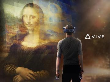 羅浮宮與HTC Vive Arts聯手打造蒙娜麗莎VR體驗