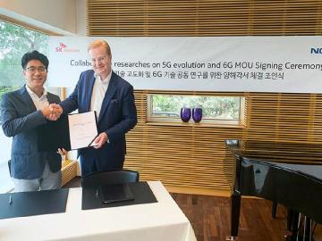 韓國SK電信攜手Nokia與愛立信 5G合作與6G研發展開