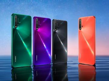 華為四鏡頭手機nova 5系列發表 7奈米Kirin 810同步推出