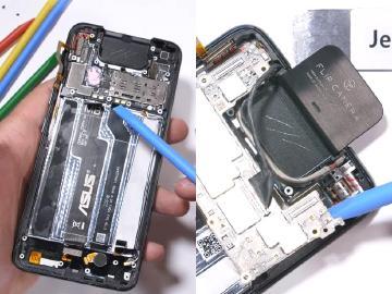 華碩ZenFone 6拆機檢視內部 被評螢幕維修難度高