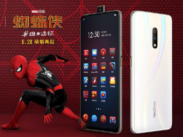 realme X 128GB規格再推蜘蛛人電影禮盒 7月初中國開賣