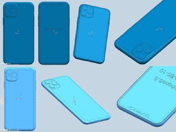 機身設計沒秘密?2019新iPhone CAD模型圖疑洩