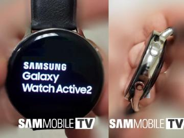 三星Galaxy Watch Active 2疑洩 錶身微調並傳有雙尺寸