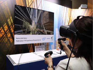 諾基亞在台灣以5G技術展示《蜘蛛人:離家日VR》體驗