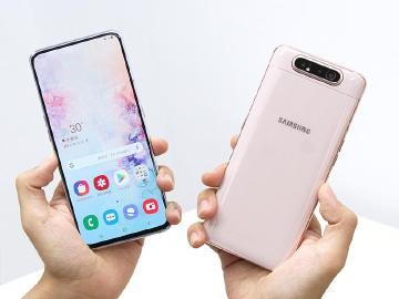 三星翻轉鏡頭手機 SAMSUNG A80中華電信即日開賣