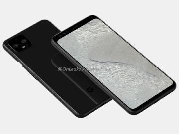 Google Pixel 4 XL設計曝光?可能取消瀏海螢幕