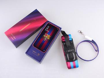 紅藍撞色漸層設計 OPPO Reno 10x巴薩限量版手機開箱