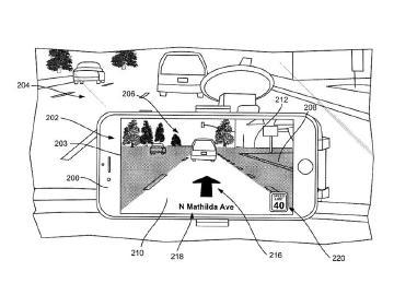 蘋果可能將AR技術應用在地圖導航